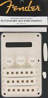Fender Copri pickup Accessory KIT stratocaster white  PARCHMENT NEW 0991395000