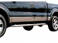 2004-2008 Ford F-150 Crew Cab 6.5' Short Bed N/Flare Rocker Panel Trim Stainless