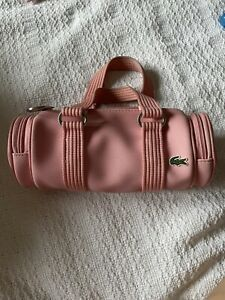 Lacoste New Classic 21 Candy Pink Mini Bag - Used - RARE VINTAGE