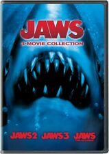 Jaws 3 Dvd Movie Collection: Jaws 2/Jaws 3/Jaws the Revenge - New! Sealed!