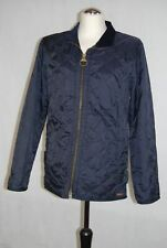 Barbour Quilted Jacket Liddesdale Sports Size XS Blue Uni -239