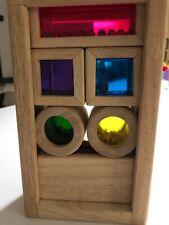 New listing Wonderworld Rainbow Sound Blocks Wood