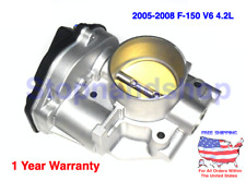 New Fuel Throttle Body Assembly for 2005-2008 Ford F-150 V6 4.2L