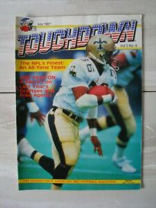 TOUCHDOWN Vol. 5 No.4 - NFL American Football Magazine - July 1987 - VGC