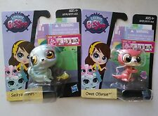 ❤️❤❤️Littlest Pet Shop Get The Pets Single Packs Saskya Sayers & Owen Otterson❤️