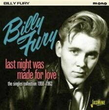 Last Night Was Made for Love 0604988090529 by Billy Fury CD