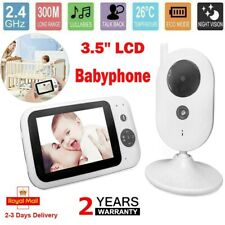 "3.5""LCD WiFi IP Camera Video Baby Monitor Night Vision 2-Way Talk Home Security"