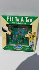 Puzzle Think Fun Fit To A Tee 18 Hole Golf New