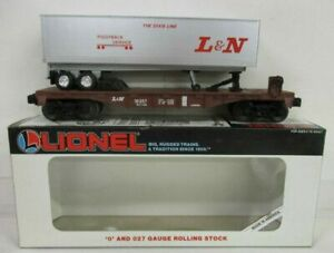 LIONEL 16357 L & N FLATCAR W/TRAILER