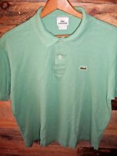 e60c932571d40b LACOSTE Womens Polo Shirt size 5 Color Light Green Short Sleeve