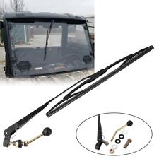 UTV Manual Hand Operated Windshield Wiper Kit For Polaris Ranger RZR 900 1000