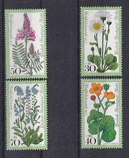 Berlin 1977 postfrisch MiNr.  556-559  Wohlfahrtsmarken  Wiesenblumen