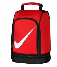 Nike Insulated Lunch box Dome Tote Bag Boys Girls Children Red New