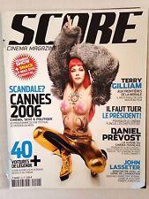 SCORE CINEMA MAGAZINE N°20 2006 COUV LZA