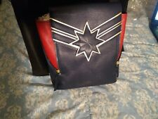 NEW Captain Marvel Mini Backpack - Navy - Free Shipping in US