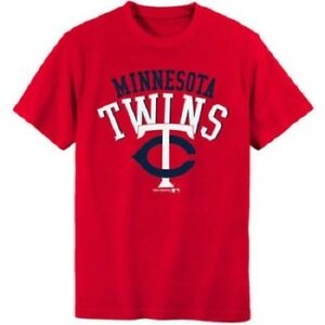 MLB Minnesota Twins Boys Short Sleeve T-Shirt Size XXL NWT