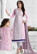 Radiant Cotton Embroidered Salwar Suit Dress Material D.NO NKT1168