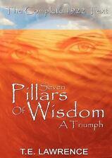 Seven Pillars Of Wisdom: A Triumph: By Thomas Edward Lawrence