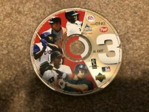 Post cereal Baseball Promotional NL East Disc 4 AL West 2 AL East 3 EA sports