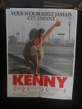 AFFICHE originale grand format ( 120 x 160 ) KENNY DE C Gagnon -1988 -