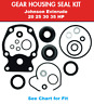 Johnson Evinrude Lower Unit Gear Case Seal Kit 25 HP 1985-UP 396351 See Chart