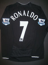 Nike Manchester United Cristiano Ronaldo Long Sleeve Jersey Shirt Real  Madrid LS 44740dcb31654