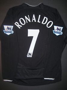 Nike Manchester United Cristiano Ronaldo Long Sleeve Jersey Shirt Real Madrid LS