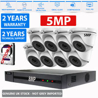 HIZONE PRO 5MP CCTV SYSTEM 4K HD DVR 4CH 8CH HD OUTDOOR CAMERA HOME SECURITY KIT