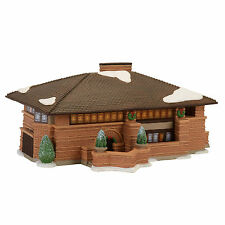 Dept 56 Citc Frank Lloyd Wright Heurtley House Lit Building New 4054987 2017 D56