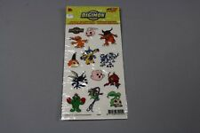 ZB1105 1128 Fox Kids Ostoy 006256 Digimon 13 Stickers Window decalcomanie