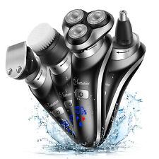 Hatteker 4 In 1 Electric Razor Shaver For Men's Waterproof Cordless Rechargeable
