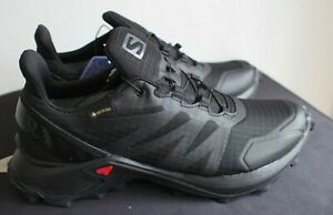 Salomon Womens Supercross GTX W Trail Running Shoe - Black