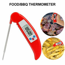 Instant Read Digital Meat Thermometer Probe Grill Oven Kitchen Food Cooking