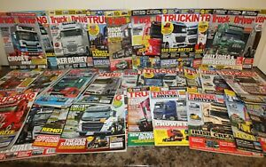 Job lot Trucking Magazine & Truck & Driver  2017-2019 approx over 35 Mags