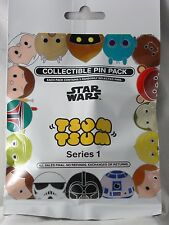 Disney Pin Collectible STAR WARS TSUM #1 Mystery Pack Selected SEALED Set of 5