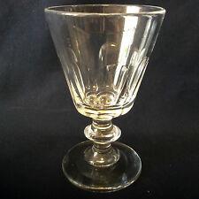 Baccarat Saint Louis H 10,3cm verre cristal modèle Caton XIXe Louis-Philippe 1er