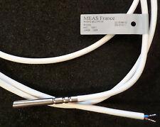 Pt1000 sensor de temperatura T = 0 ° c-105 ° c t = 3k-100k W-EPS ø5.2 pn16 meas france 80cm