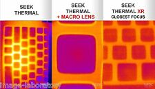 NEW Macro Lens FOR SEEK THERMAL CAMERA IMAGING ANDROID FLIR LWIR NIGHT VISION