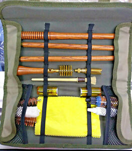 12G GUN CLEANING KIT - POUCH WALLET - Hunting - Shooting