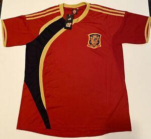 Pantera Sports Men's Soccer Jersey XXL Shirt Spain Espana New With Tags