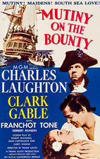 Mutiny On The Bounty - 1957 - Movie Poster