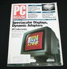 PC Magazine April 10 1990 Vol 9 #7 Spectacular Displays Dynamic Adapters Hi Res