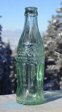 Scarce & ORIGINAL antique LEWISTOWN MONT hobbleskirt Coca Cola COKE bottle!