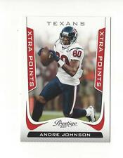 2011 Prestige Xtra Points Red #77 Andre Johnson Texans /100
