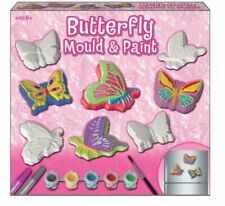 Butterfly Mould and Paint Fridge Magnets Set