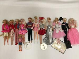 Barbie Doll Lot Of 12 Dolls