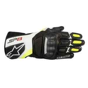 Alpinestars Racing SP-8 v2 Mens Leather Road Sport Track Bike Motorcycle Gloves