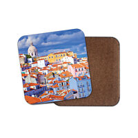 Lisbon City Portugal Coaster - Travel Holiday Buildings Tourist Cool Gift #14934