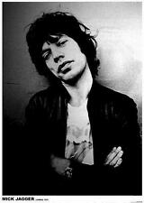 "Rolling STONES Poster ""Mick Jagger Londra 1975"""