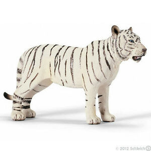 NEW SCHLEICH 14383 Female White Tiger Tigress - RETIRED